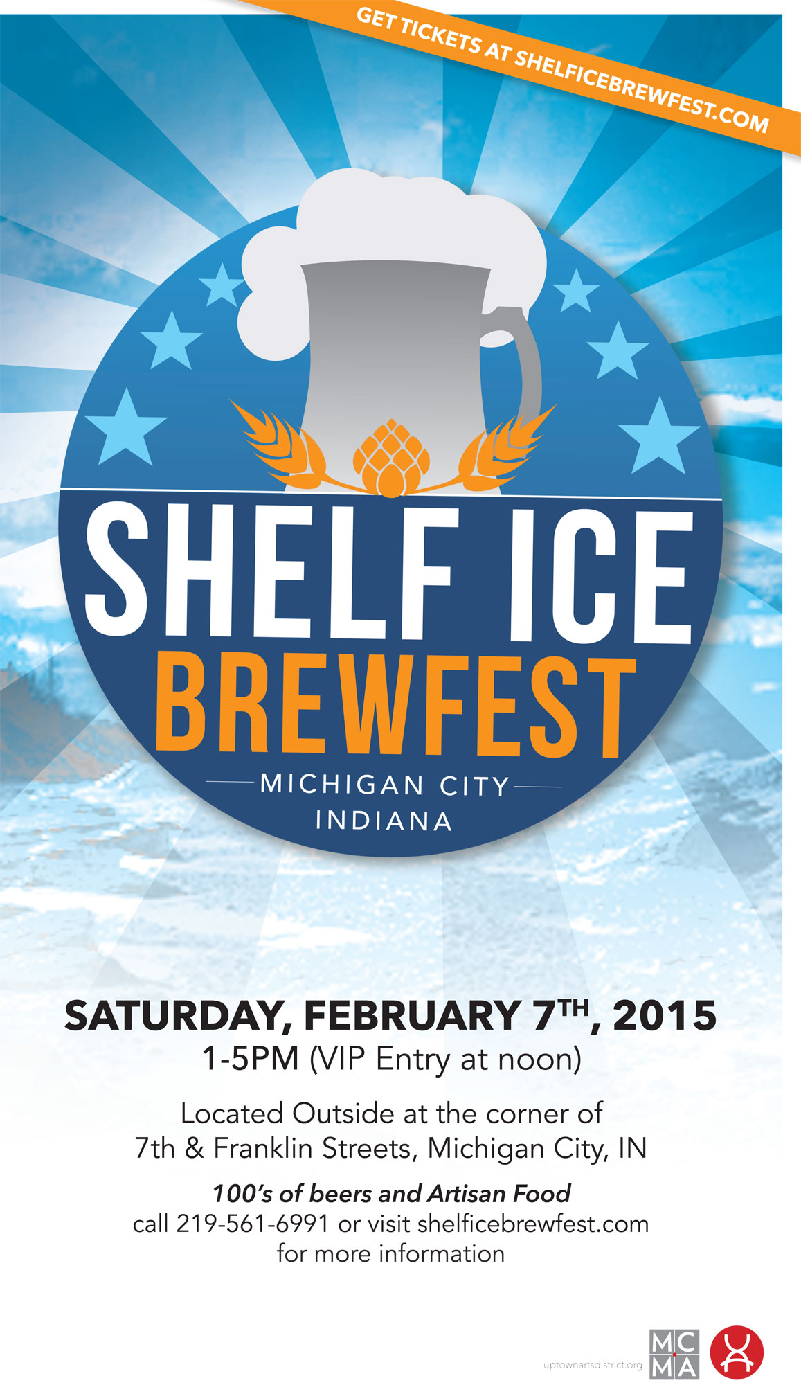 Something New is Brewing at the Michigan City Mainstreet Association, Announcing the Inaugural Shelf Ice Brew Fest