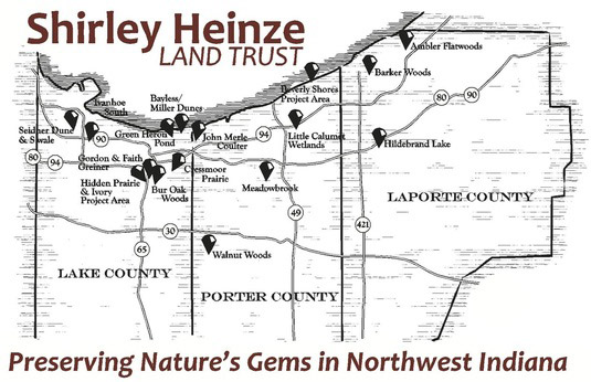 Shirley-Heinze-Map
