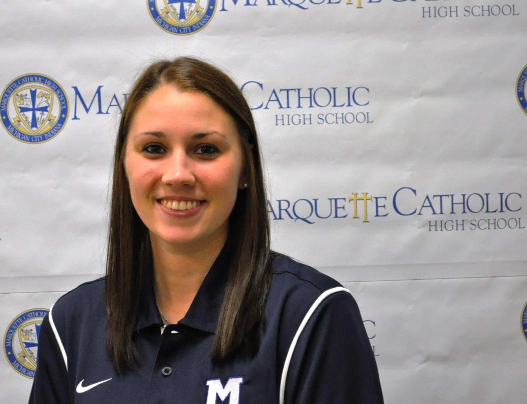 Marquette Catholic High School Hires Chesterton Grad for Lady Blazer Basketball