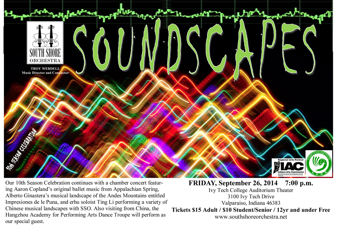 """Soundscapes"" to Bring Cultural Identities Together through Music on Friday, September 26"