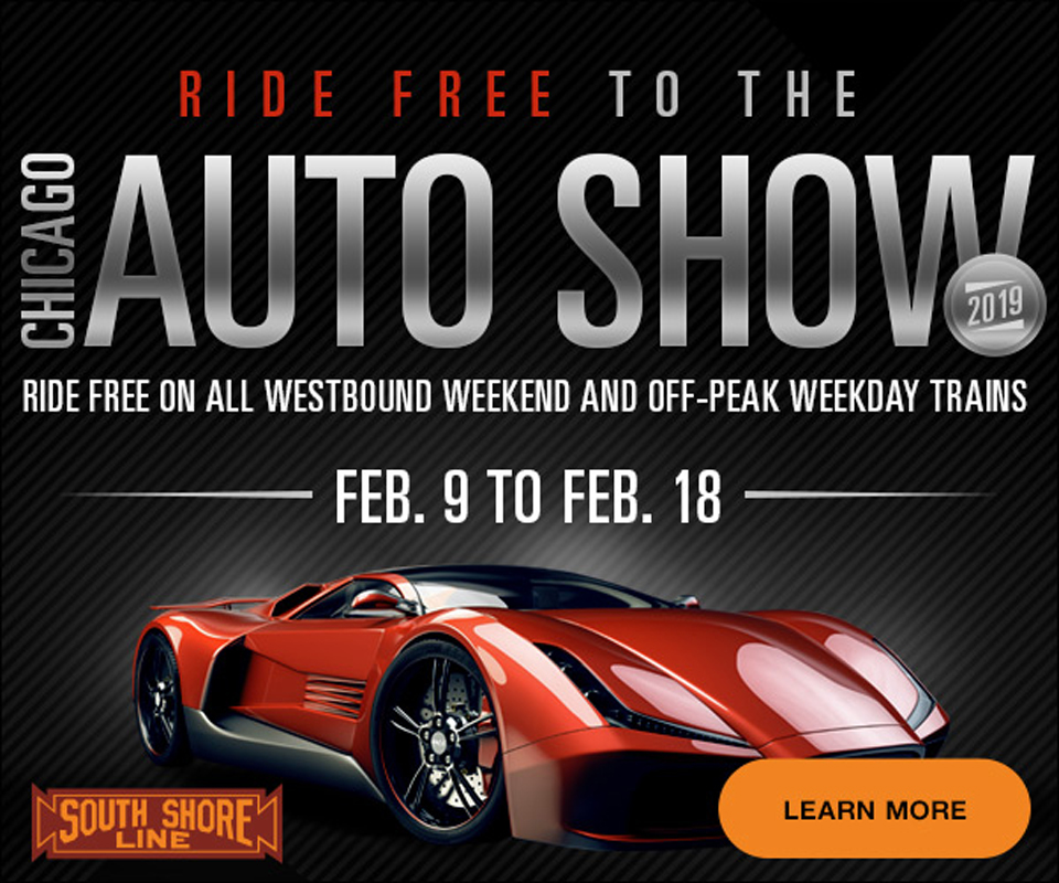 South Shore Line Offers Free Westbound Rides To Chicago Auto Show