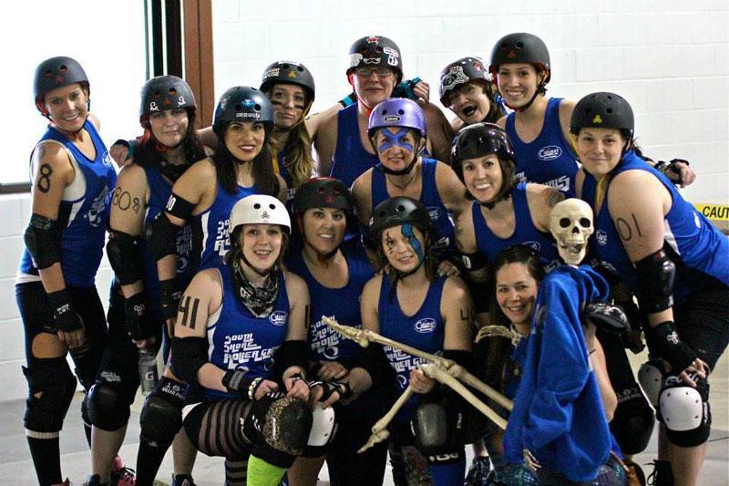 South Shore Roller Girls Hosts Roller Derby Double Header