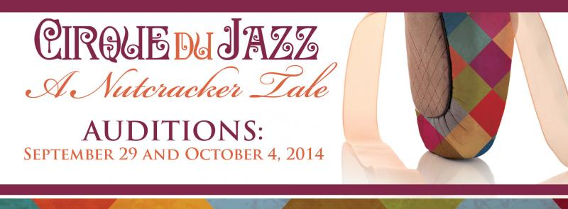 Buy Cirque du Jazz/A Nutcracker Tale Tickets before Friday and Save $2 off At-the-Door Pricing