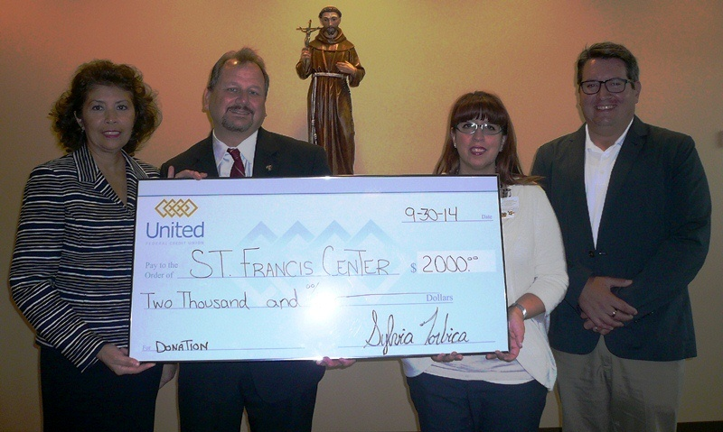 St-Francis-Center-receives-charitable-boost-from-credit-union