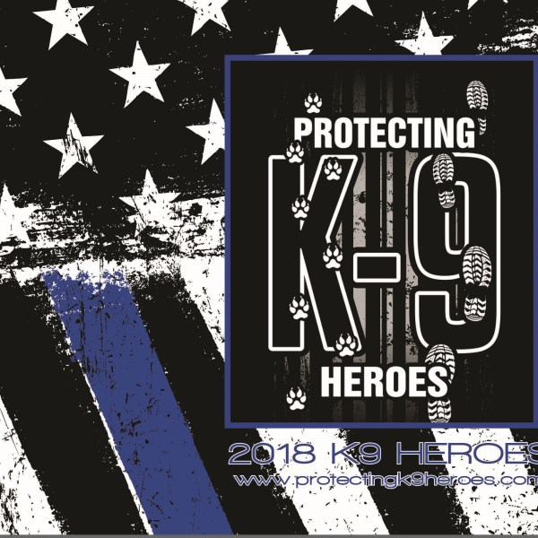 St. John Police Officer and K9 Featured in Protecting K9 Heroes Calendar