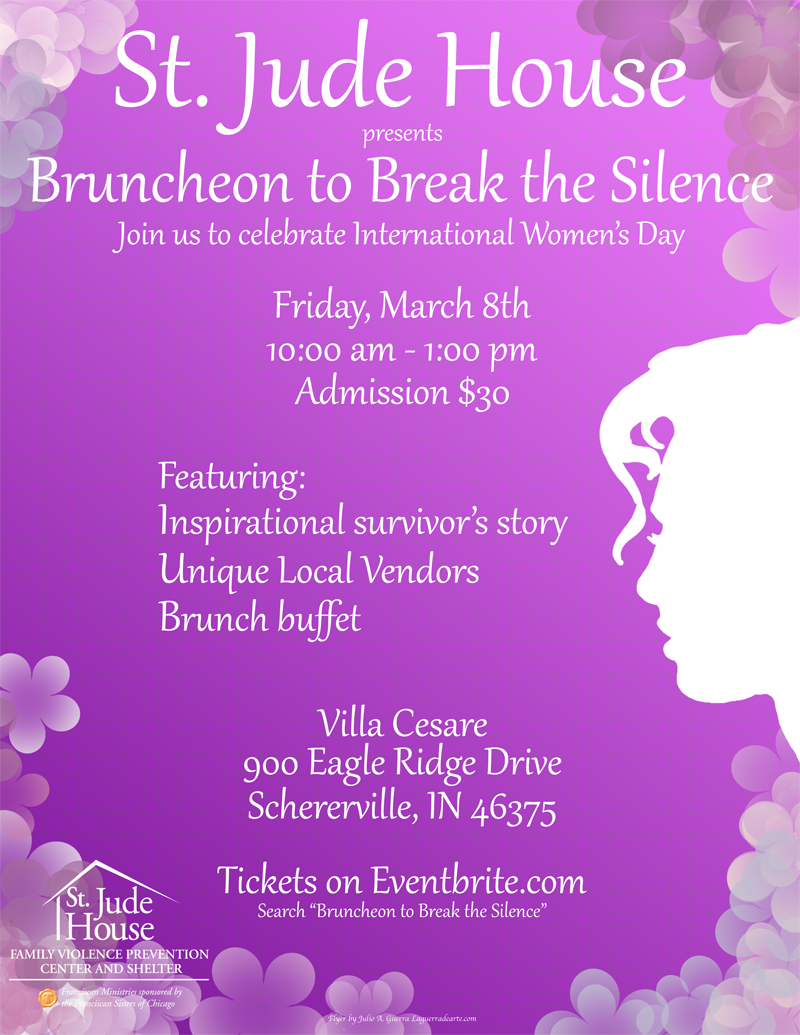 St. Jude House Presents Bruncheon to Break Silence