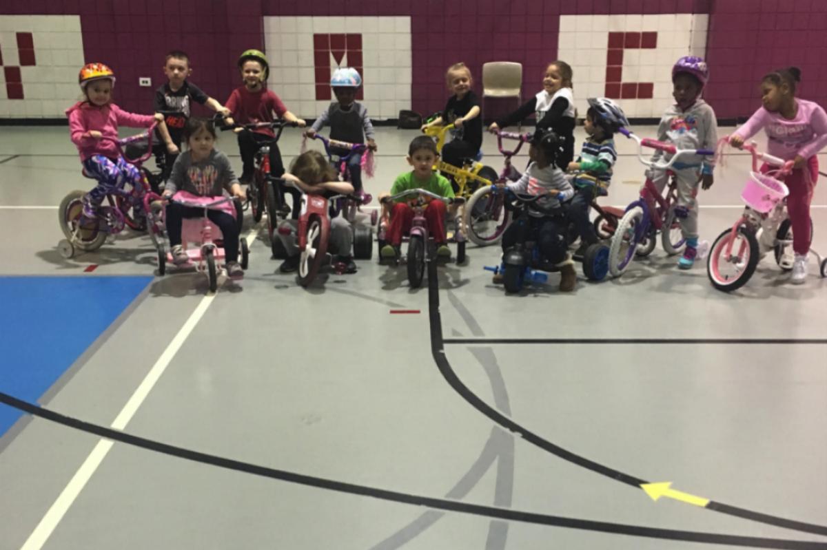 Hammond YMCA Preschool Sixth Annual Trike-A-Thon Raises $1079 for St. Judes