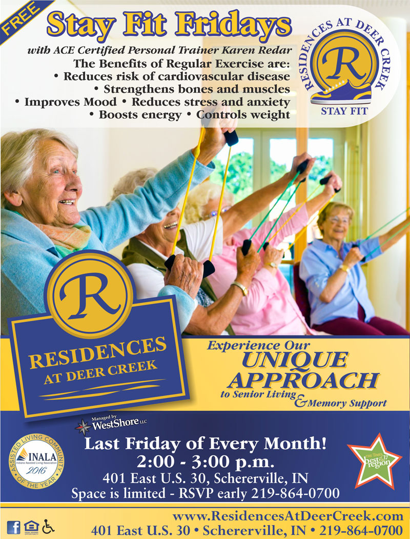 Stay Fit Fridays at Residences at Deer Creek