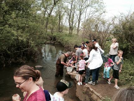 Bring the Family for Water Quality Monitoring on Stewardship Saturday