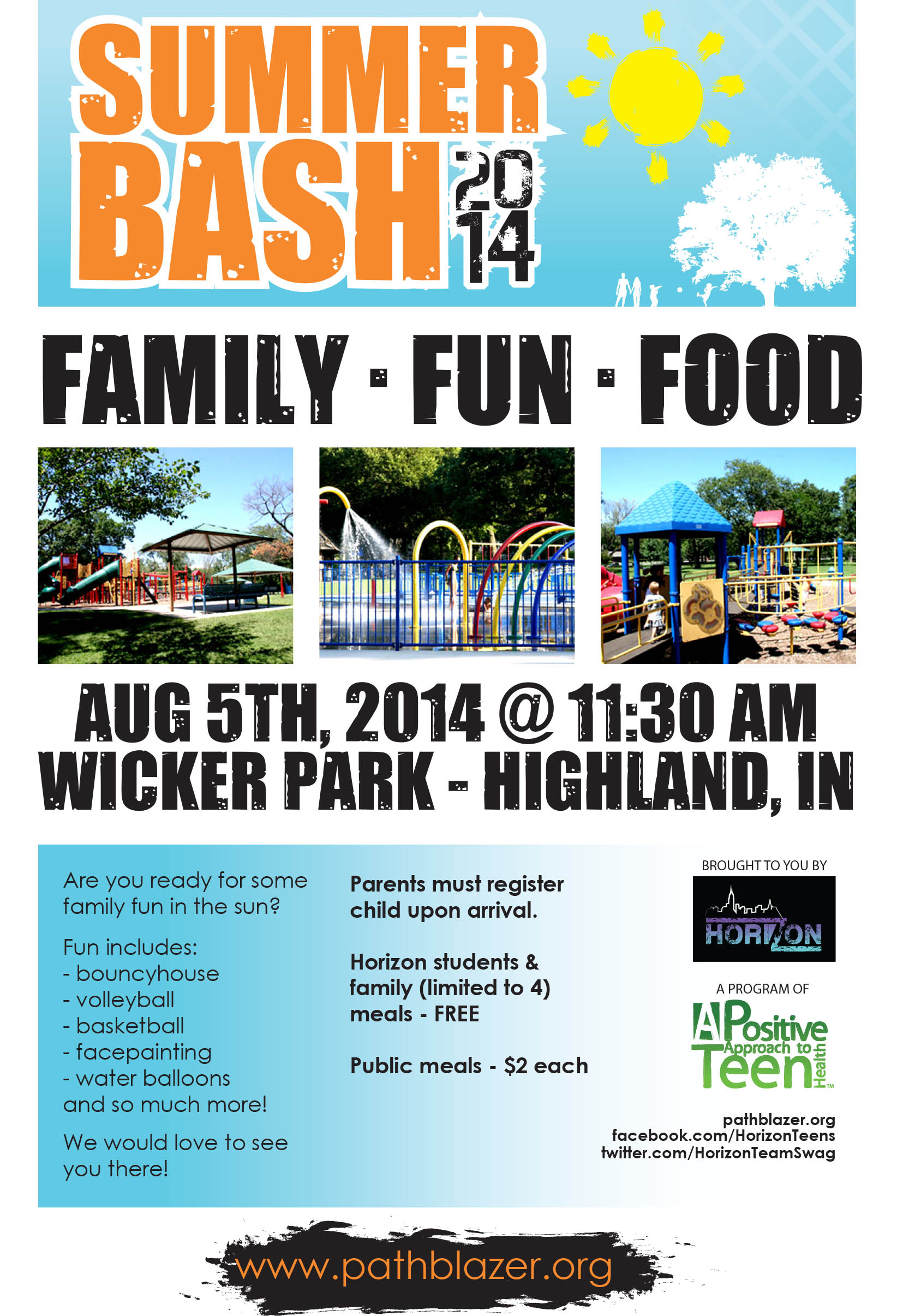 Summer Bash 2014 – A Family Friendly Free Event