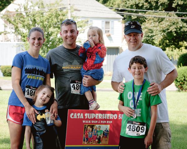 Harmony House/CASA Program of La Porte County Superhero 5K Walk/Run & Fun Run A Success
