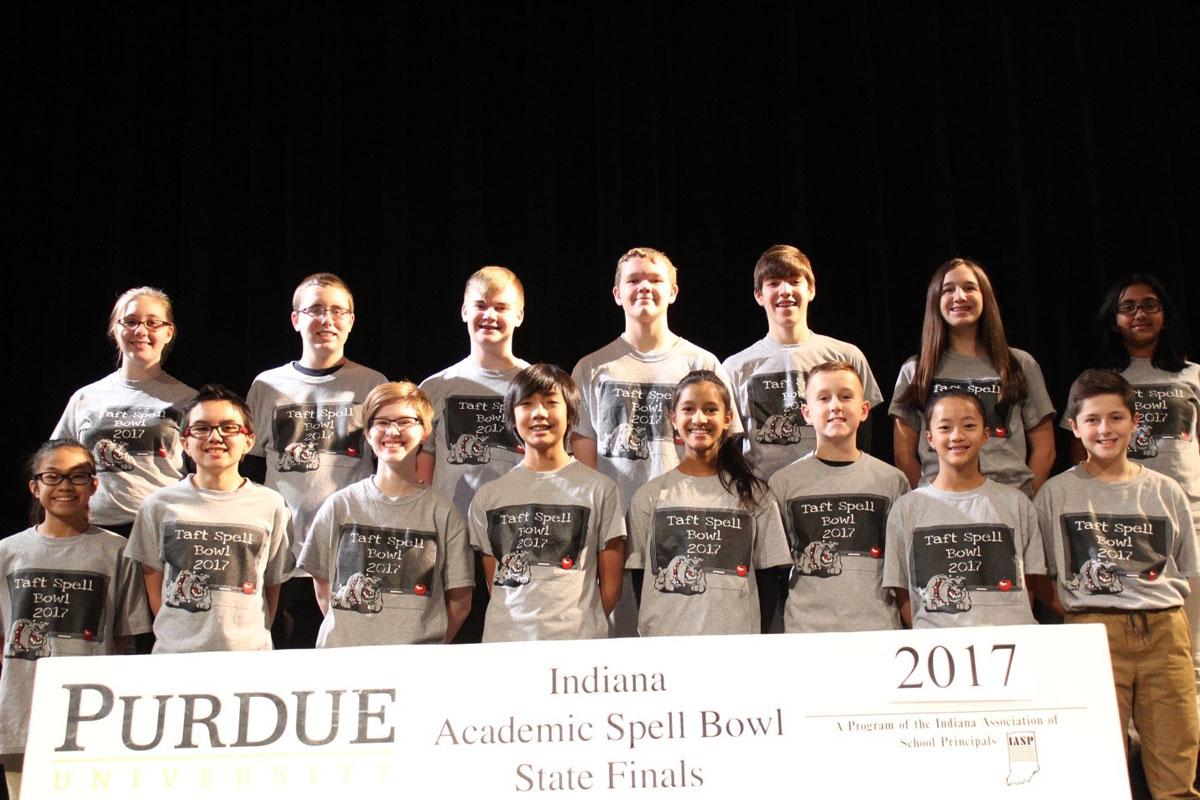 Taft Academic Spell Bowl Team Wins State Runner-Up in 2017