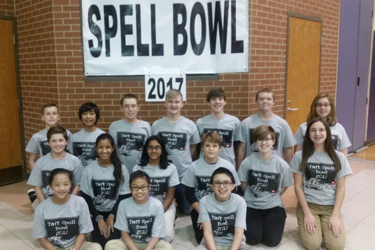 Taft Middle School Holds 2017 Spell Bowl