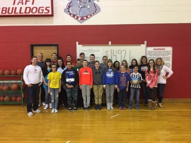 Taft Middle School Hoops for Heart