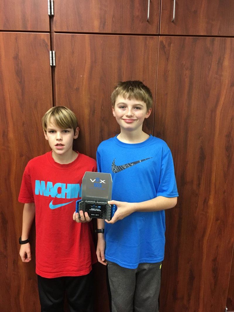Taft Robotics' Team Participates in 2017 Vex Robotics State Championship