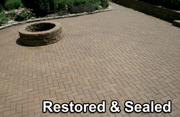 TimberSeal Offers Professional Paver & Concrete Cleaning, Joint Sanding & Sealing Services