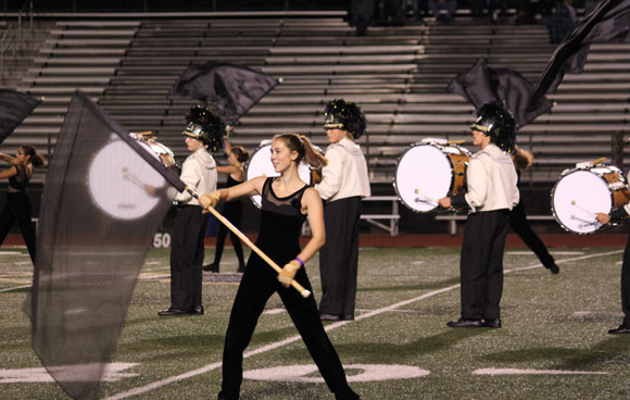 Trojan-Guard-performs-at-district-event