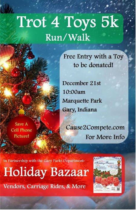Trot for Toys is Saturday at Marquette Park