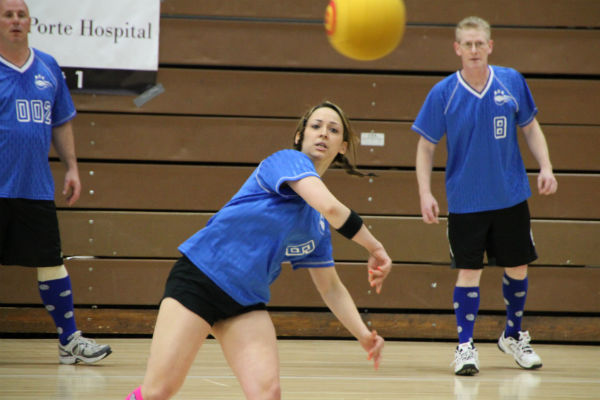 More than $10,000 Raised for United Way of La Porte County in Dodgeball Challenge
