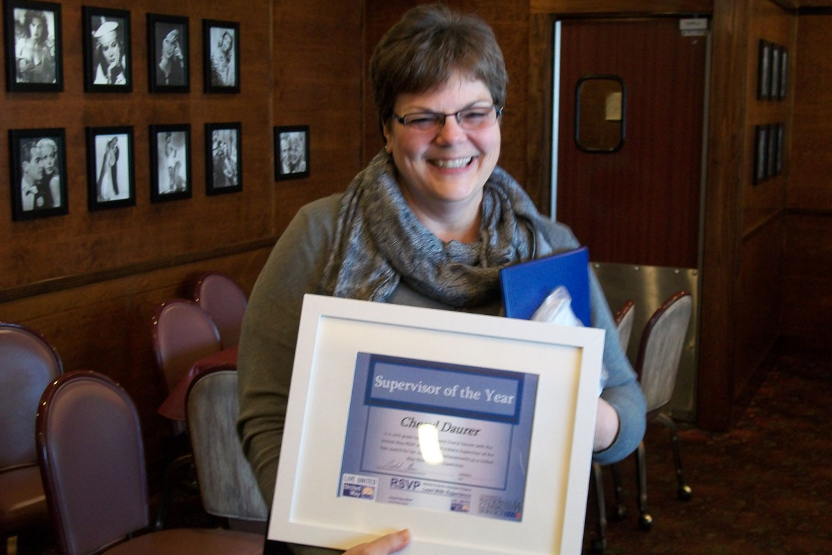 United Way RSVP Volunteers Receive Awards at Annual Luncheon