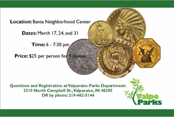 Valpo-Parks-Coin-Collecting