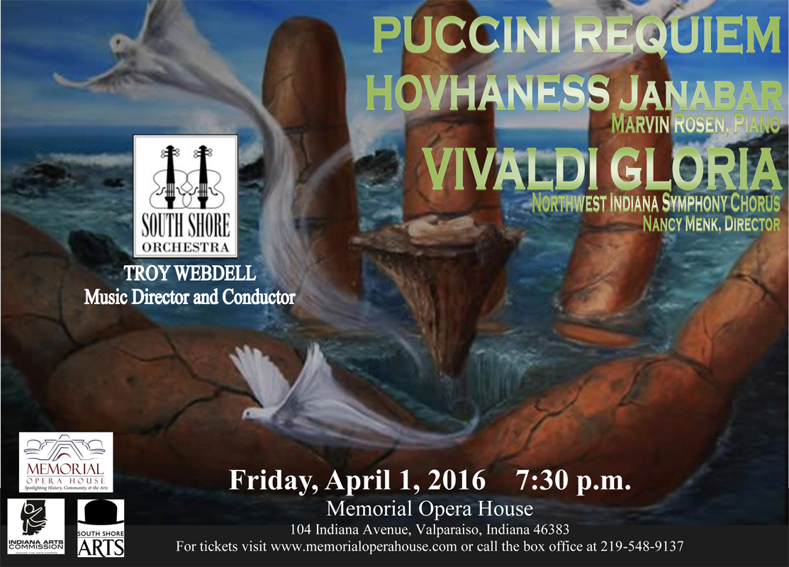 South Shore Orchestra Debuts Symphonic Voices at Memorial Opera House on April 1, 2016