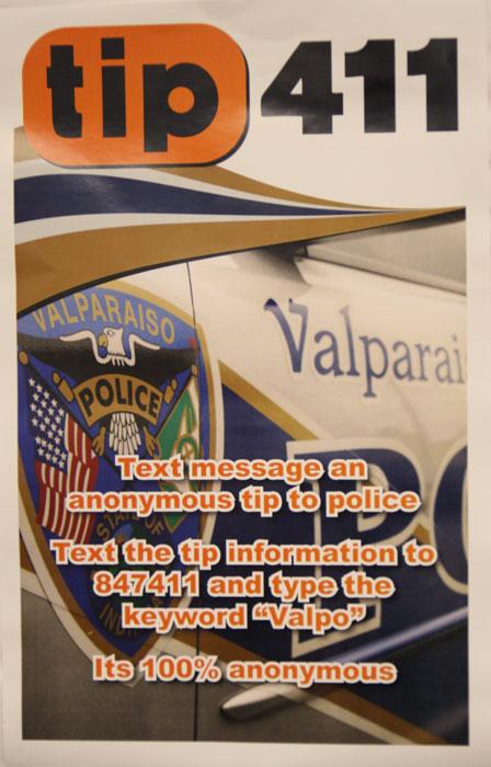 Text Tips to the Valpo Police – ValpoLife