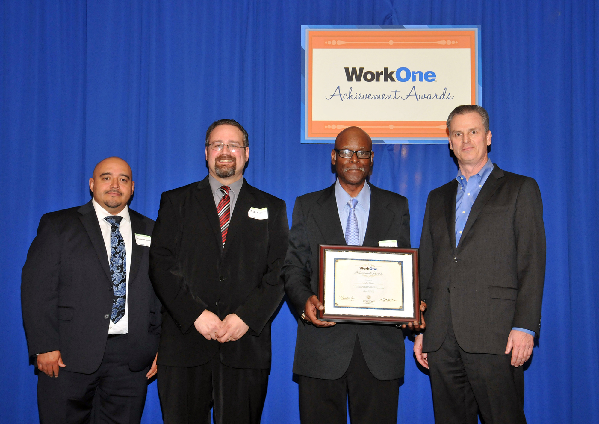 Walter Parris of East Chicago Receives WorkOne Achievement Award