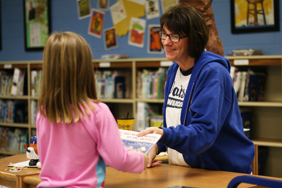 Watson Librarian Shares Love for Literature