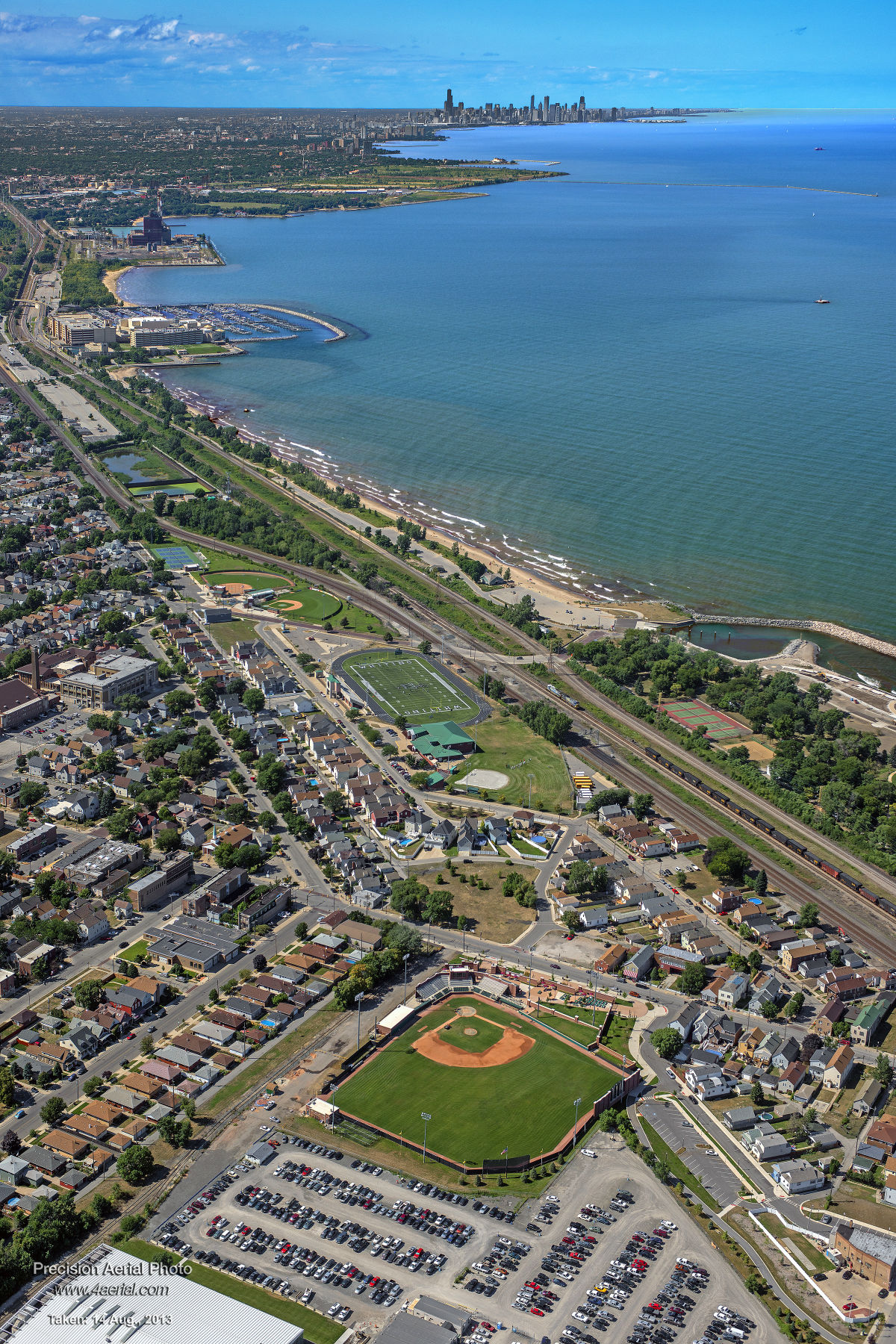 whiting-chicago-aerial-view