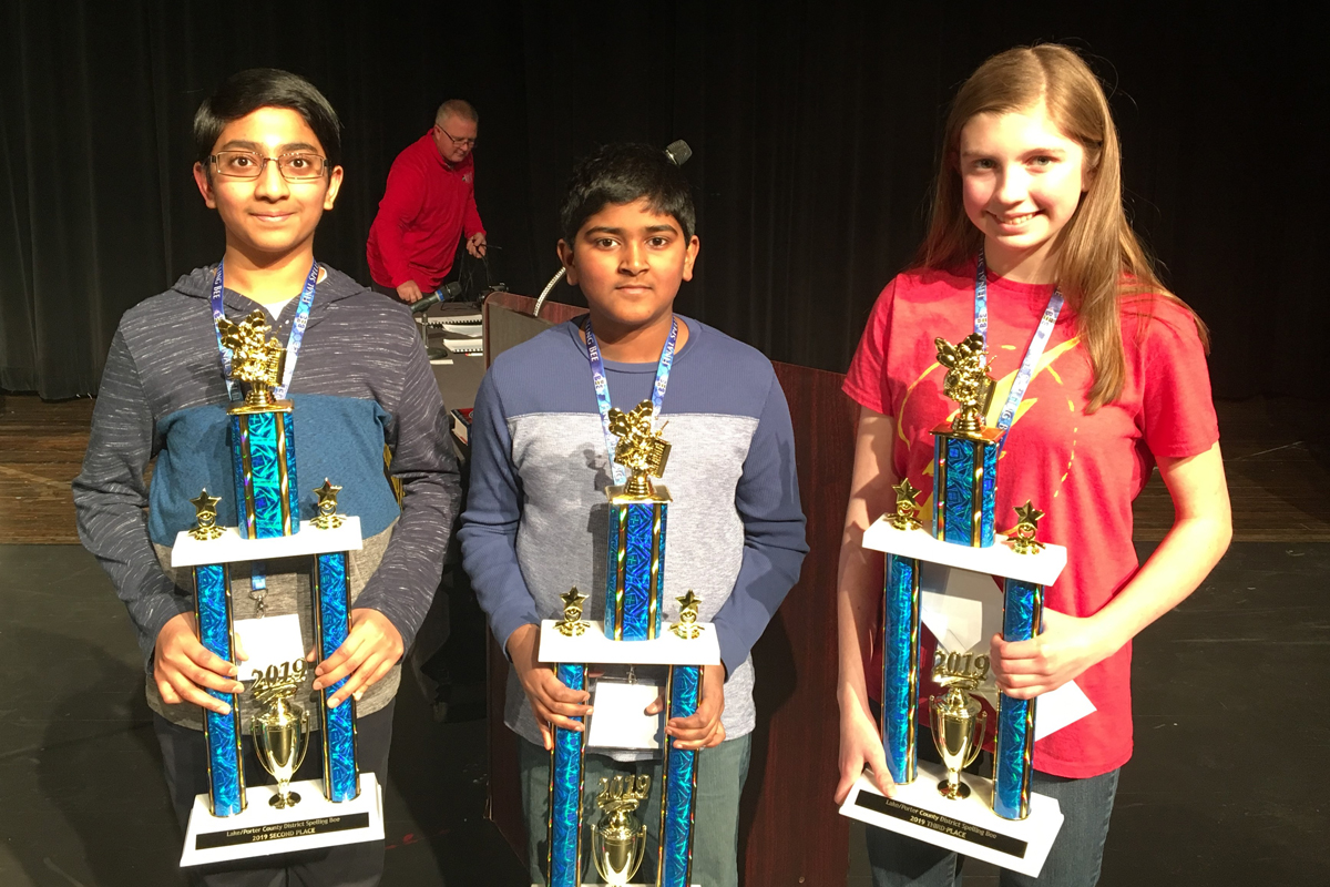 Wilbur Wright Middle School Student Named Spelling Bee Champion