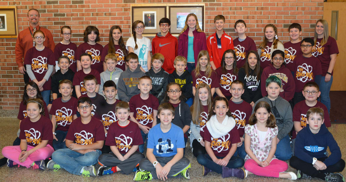 Westchester Intermediate Places in 2016 Science Bowl