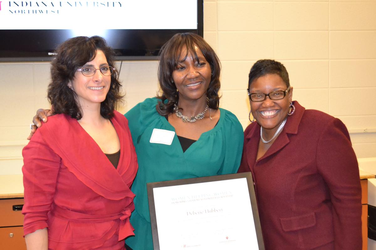 """Women Helping Women"" Honors Four IUN Students"