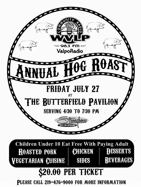 Hog Roast to Again Benefit Local Radio Station