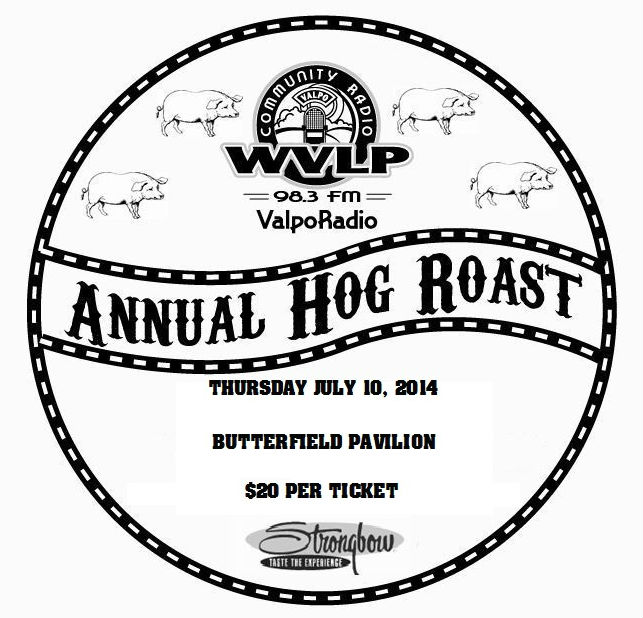 WVLP 98.3 FM Hog Roast Set for July 10