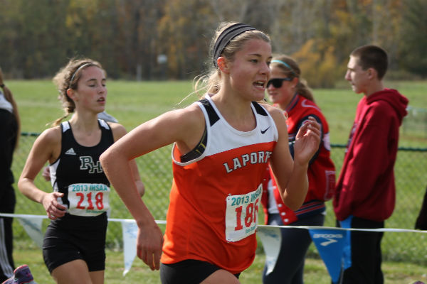 La Porte's Didion and Lancioni Achieve Medalist Honors at State Meet