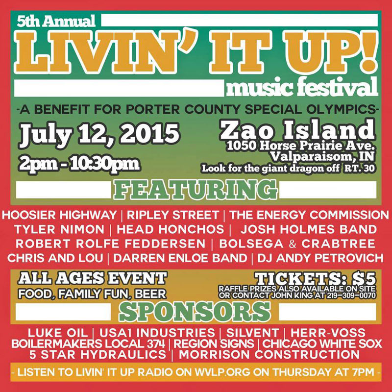 Zao Island to host 5th Annual Livin' It Up Music Festival on July 12